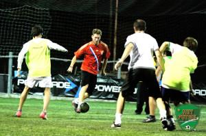 Fútbol 5 con amigos