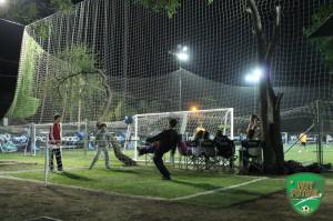 Fútbol Tenis para practicar antes de entrar en la cancha.