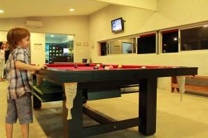 Mesa de Pool en el Quincho